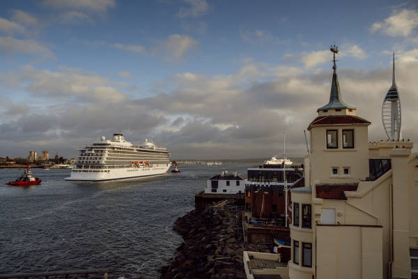 New Viking Cruises ship to be named today